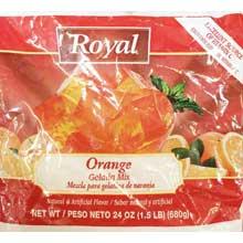 Royal Orange Gelatin 24 Ounce