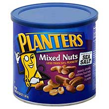 Planters Mixed Nuts Regular