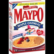 Maypo Vermont Style Maple Oatmeal Cereal