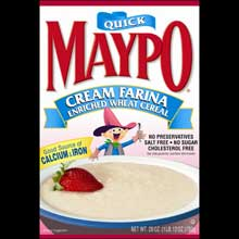 Maypo Cream Farina Enriched Wheat Cereal