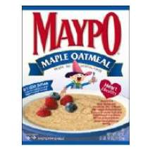 Homestate Farms Instant Maple Flavor Maypo Oatmeal Cereal 42 Ounce Mfg 43107