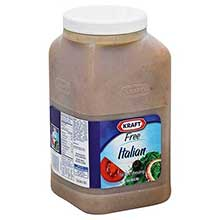 Dressing Kraft Free Italian 1 gallon