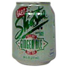 Shasta Diet Ginger Ale Soda