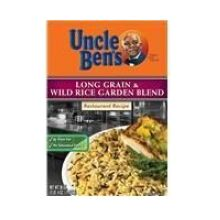 Rice Uncle Bens Long Grain and Wld Garden