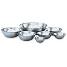 Economy Stainless Steel Mixing Bowls Capacity 1.4 Ltr