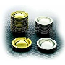 Golden Gourmet Metal Ashtray 5.75