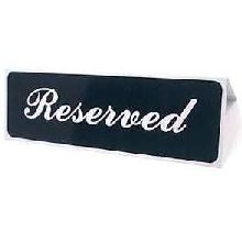 Reserved Table Top Sign