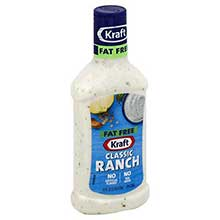 Kraft Fat Free Ranch Dressing 16 Ounce