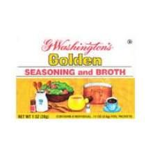 G Washington Seasoning and Broth