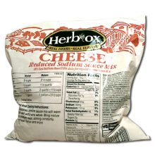 Herb Ox Reduced Sodium Cheese Sauce Mix