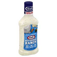 Buttermilk Ranch Dressing In Plastic 16 Ounce