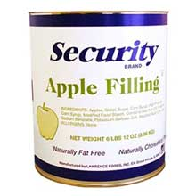 Security Apple Filling no.10 Can