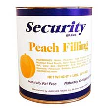 Security Peach Filling no.10 Can