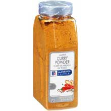 McCormick Madras Curry Powder- 1 lb. container
