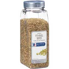 McCormick Fennel Seed - 14 oz.container