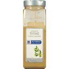 McCormick Ground Thyme - 11 oz. container