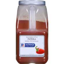 McCormick Hungarian Style Paprika - 5.25 lb. container