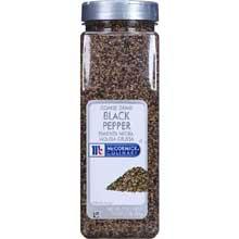 McCormick Coarse Ground Black Pepper - 16 oz. container