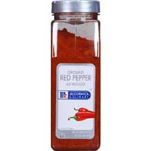 McCormick Ground Red Pepper - 1 lb. container