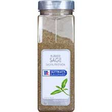 McCormick Rubbed Sage - 6 oz. container