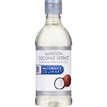 McCormick Imitation Coconut Extract - 1 pint bottle