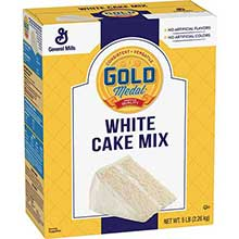 Gold Medal White Cake Mixes
