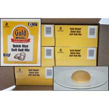 Gold Medal Quick Rise Soft Roll Yeast Mix 5 pound