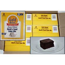 Supermoist Devils Food Cake Mixes