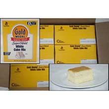 Supermoist White Cake Mixes