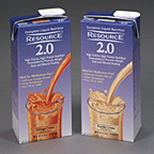 Resource 2.0 Brik Pak Vanilla Crème 32 Ounce