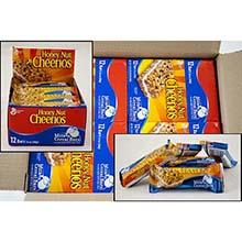 General Mills Milk N Honey Nut Cheerios Cereal Bar