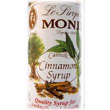 Glass Cinnamon Flavor Syrup 750 Milliliter