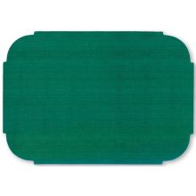 Smith Lee Dark Green Eclipse Cut Edge Heavy Weight Placemat