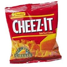 Cheez-It Original Baked Snack Crackers - 1.5 oz. bag