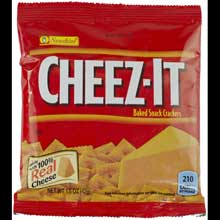 Cracker Keebler Sunshine Cheez-It Vending Single Serve