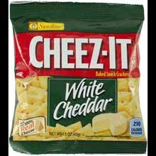 Cracker Keebler Sunshine Cheez-It White Cheddar