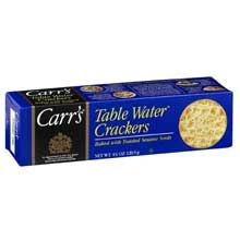 Carrs Table Water Crackers with Toasted Sesame Seeds - 4.25 oz. box