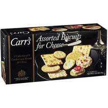 Cracker Keebler Carrs Assorted Biscuit Cheese