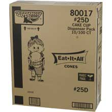 Cone Keebler Eat It All Cake 25D For Dispenser