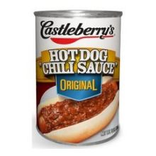 Castleberrys Hot Dog Chili Sauce