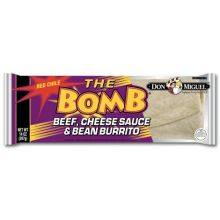 The Bomb Beef and Bean Burrito