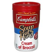 Soup at Hand Cream of Broccoli Soup