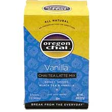 Oregon Chai Vanilla Chai Tea Latte Mix - 8 count