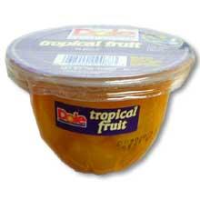 Tropical Fruit in 100 Percent Fruit Juice