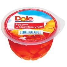 Peach In Strawberry Gel