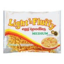 Light N Fluffy Medium Egg Noodles Pasta 12 Ounce -- 12 Ca