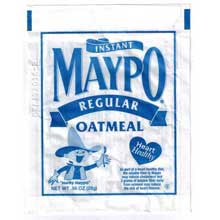 Holmes Maypo Regular Instant Oatmeal Cereal 0.98 Ounce Mfg 200301