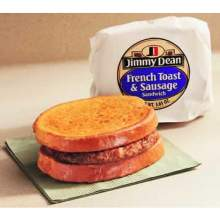 French Toast and Sausage Sandwich 3.6 Ounce