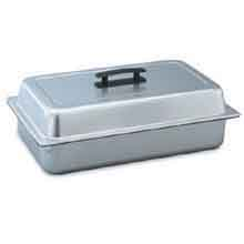 Cover Solid Dome Stainless Steel 1/2 Size