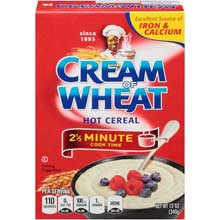 Krafts Cereal Cream of Wheat Cooked On Stove for 2.5 Minute 14 Ounce